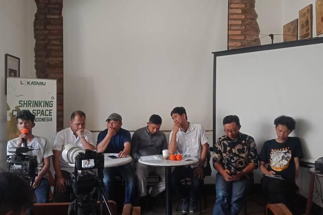 Elemen Masyarakat Sipil : Ruang Kebebasan Sipil Kian Menyusut