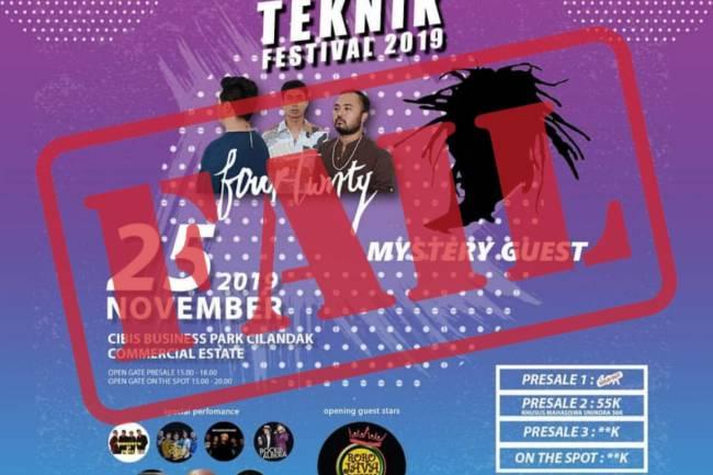 Klarifikasi Batalnya Closing Ceremony T'Fest 2019