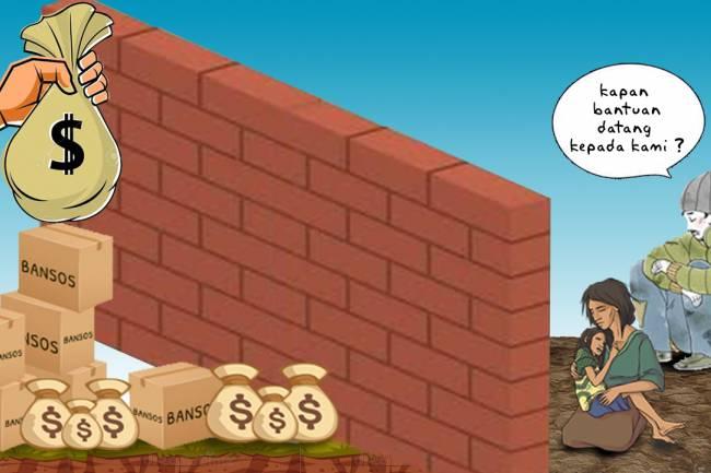 Bantuan Sosial Tak Kunjung Datang: Rakyat Mesti Mandiri; Pemerintah Sedang Sibuk!