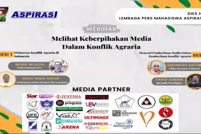 Dies Natalis LPM Aspirasi : Melihat Keberpihakan Media dalam Konflik Agraria