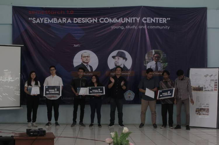 Sayembara Design Community Center Unitas Arsitektur X Aksara