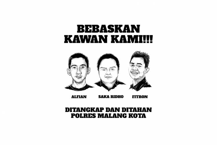 Pers Rilis: Bebaskan Tiga Pemuda yang Ditangkap dan Ditahan oleh Polres Malang (YLBHI, LBH Surabaya dan LBH Pos Malang)
