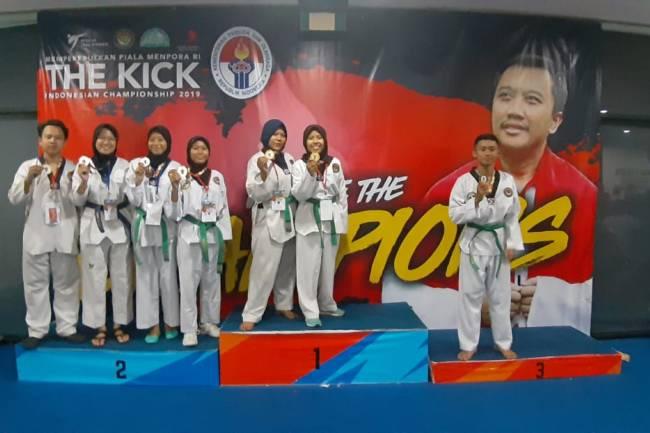 Taekwondo Unindra Kembali Menuai Prestasi