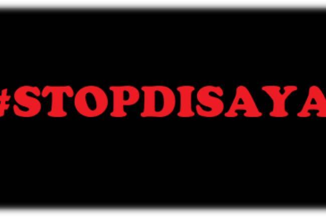 Tagar #STOPDISAYA Menjadi Penyuara