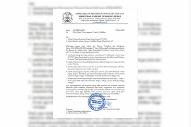 Menanggapi Subsidi Kuota Internet, Dosen Unindra: Menteri Tidak Ambil Langkah Revolusioner
