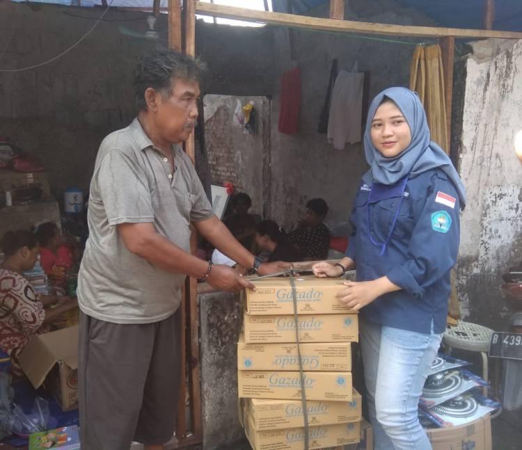 Aksi Sosial Organisasi Mahasiswa Unindra Peduli Bencana