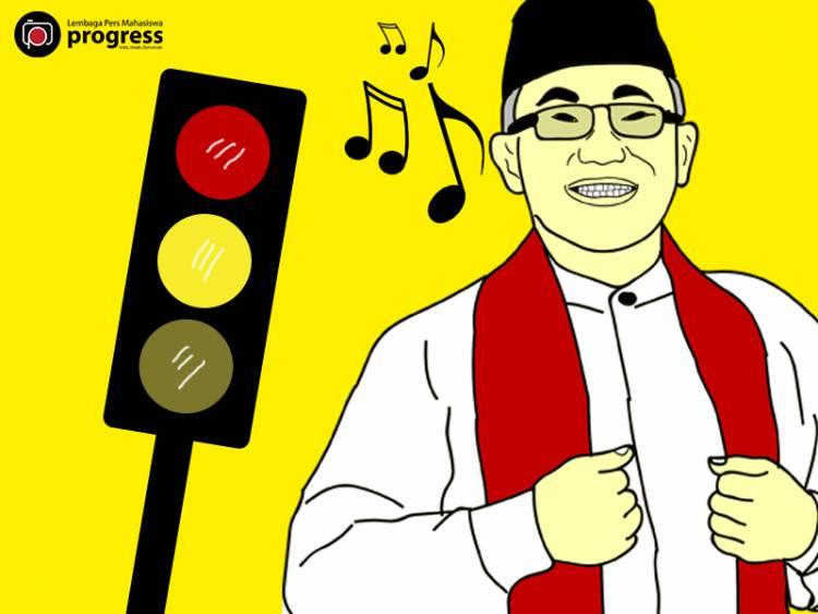 Opini Pemutaran Lagu di Lampu Merah Kota Depok