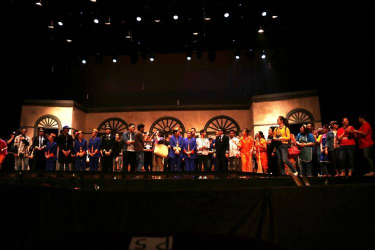 Drama Musikal Peron,  di Graha Bhakti Budaya, TIM