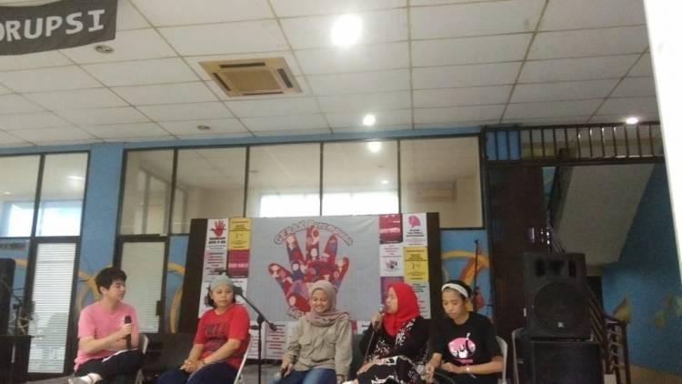 Panggung Ekspresi Gerak Perempuan dalam Rangka Menuju Hari Perempuan Sedunia