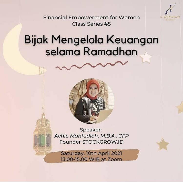 Sambut Ramadan, Mari Siapkan Pengelolaan Keuangan