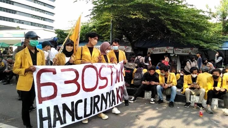 Gerakan Mahasiswa dalam Aksi Selamatkan KPK