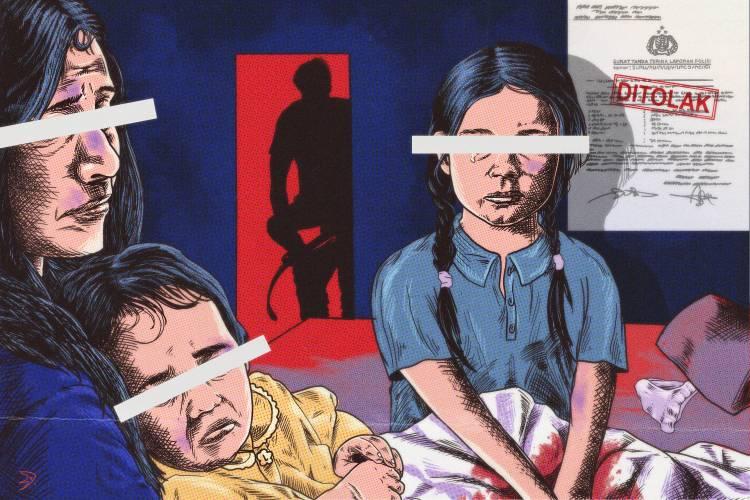 Tiga Anak Saya Diperkosa, Saya Lapor ke Polisi. Polisi Menghentikan Penyelidikan